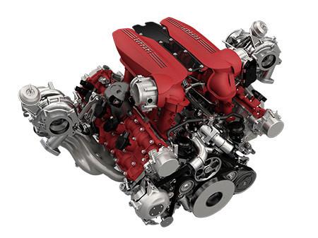V8-as Ferrari motor