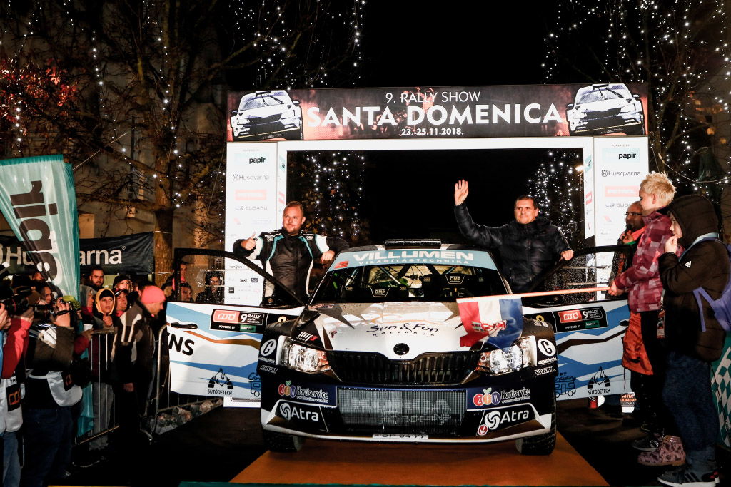Rallye Show Santa Domenica