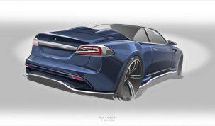 Az Ares Design is készít Tesla Roadster-t – Model S-ből