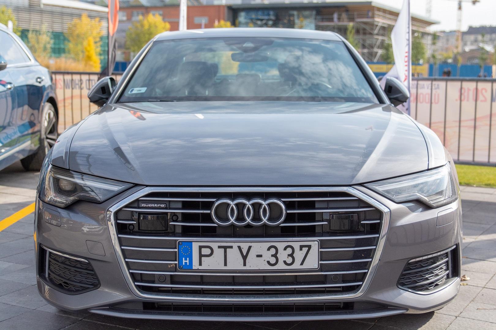 Audi A6 tesztkör