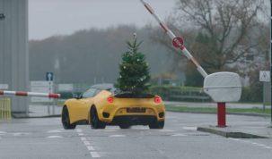 Boldog Karácsonyt Lotus módra