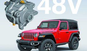 Jeep® Wrangler új eTorque mildhibrid
