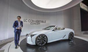 Lexus LC Convertible koncepció
