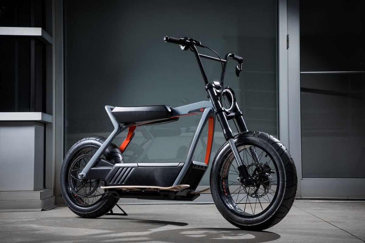 Elektromos Harley-k