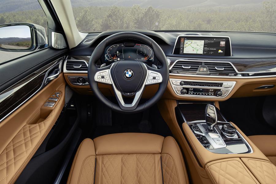 modellfrissített BMW 7