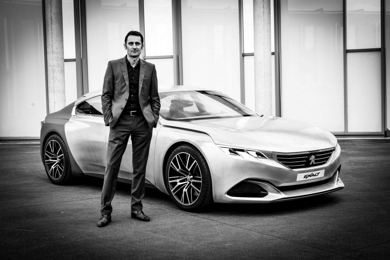 Európa legjobbjának választották meg a Peugeot 508 formatervezőjét