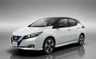 nagy akksis Nissan Leaf