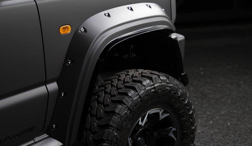 Suzuki Jimny Black Bison – Bárány farkasbőrben