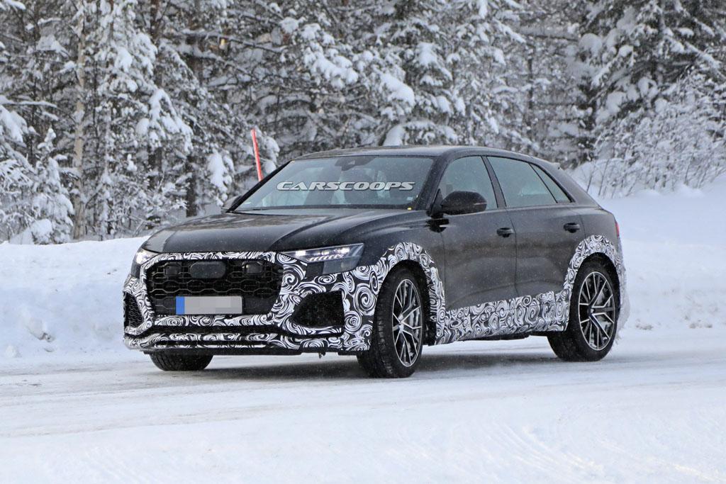 Kémfotón az Audi RS Q8