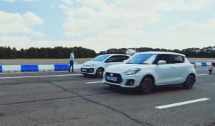 VW Up GTI és Suzuki Swift Sport versenye