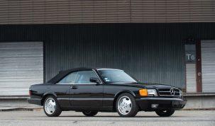 Mercedes 560 SEC 1988 – amíg a retró a divat