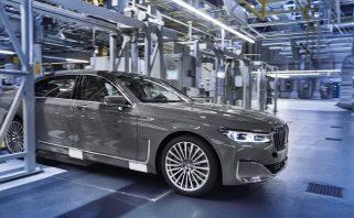 új 7-es BMW gyártása