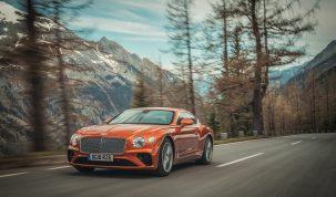 Bentley Continental GT a Pikes Peak-en