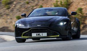Aston Martin Vantage – az új roadster