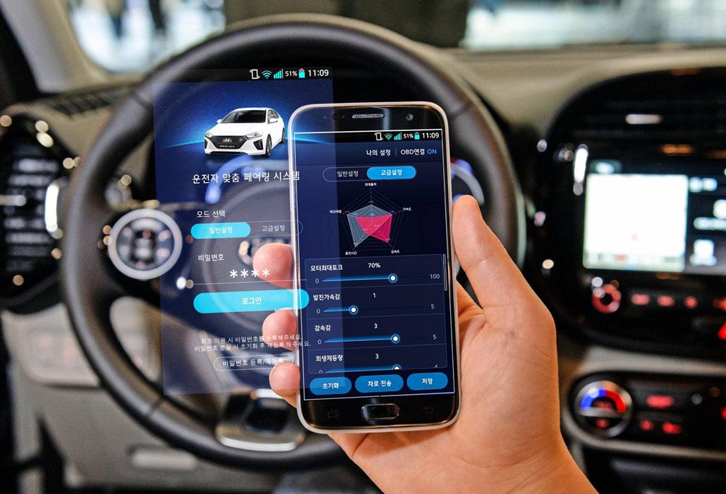 Hyundai és Kia autók személyes beállítása okostelefonnal