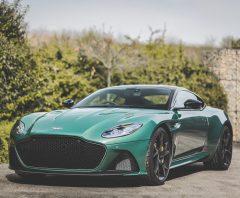 leggyorsabb széria Aston Martin