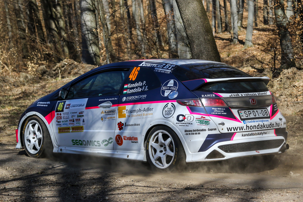 SOLID Racing Team – Eger Rallye - 2019.03.29-31.