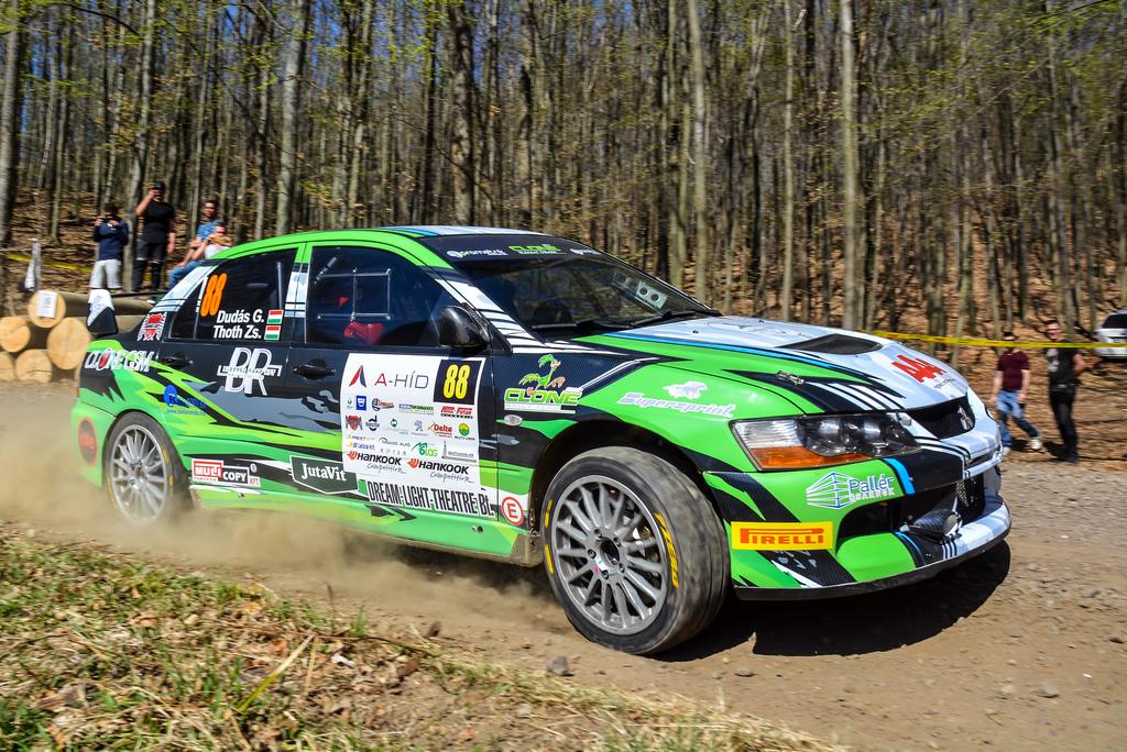Eger Rally Dudás Gergő