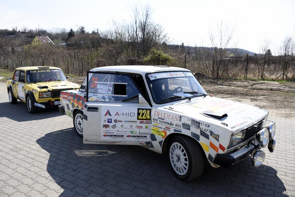 Credobus Eger Rallye 2019 Parkánszki Balázs Poczang Valér Dynamic Rally Team S.E.