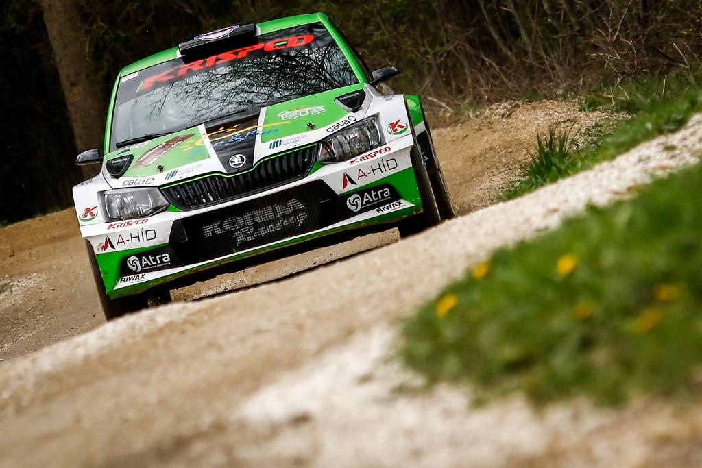 Mitropa Kupa Lavanttal Rallye Ritmus Ase Klausz Kristóf Farnadi Ágnes