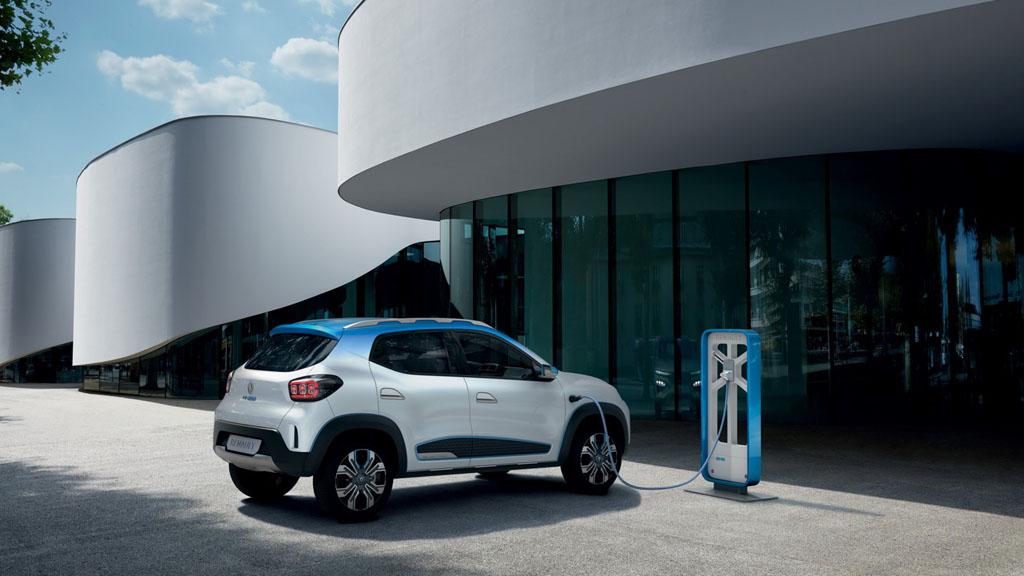 Renault City K-ZE a villamos SUV