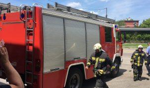 Szirénázó tűzoltóautók