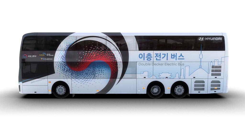 Hyundai Elektromos Emeletes Busz