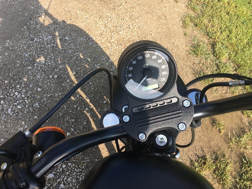 Harley-vel a Balatonnál