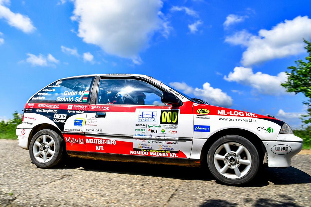 CREDOBUS - MIKA Szemere-Buzitatető Rallye Rallye3 Gutai Marcell