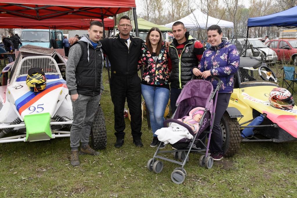 Dóczi László és a keceli autocross