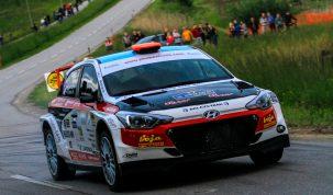 Juhász Csaba Juhász Zsolt Hyundai i20 R5 Juhász Média Kft. AMTK Velenje Rallye