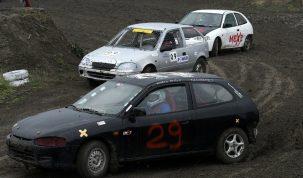Kovács Attila és a keceli autocross