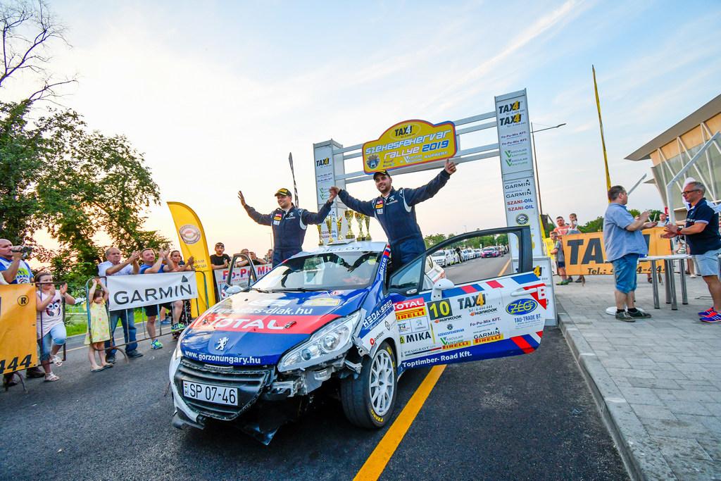 Rallye2 Székesfehérvár Csomós Mixi