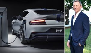Aston Martin Rapide E James Bond Valhalla