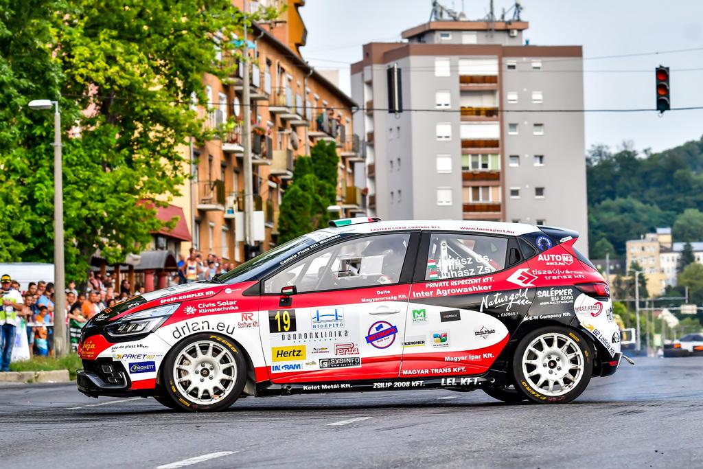 Juhász Csaba Juhász Zsolt Renault Clio R3T Juhász Média Kft. Baranya Kupa