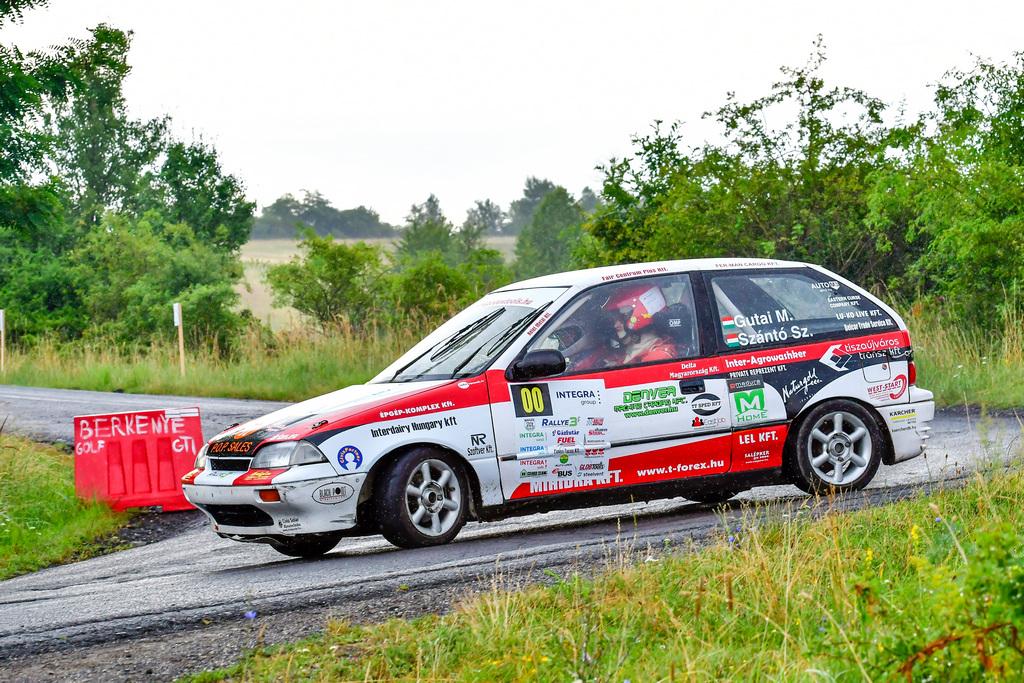 Integra Bózsva Rallye3 Szántó Szabi Gutai Marcell