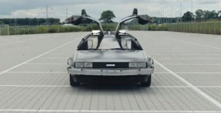 DeLorean Távvezérlés Vissza a jövőbe