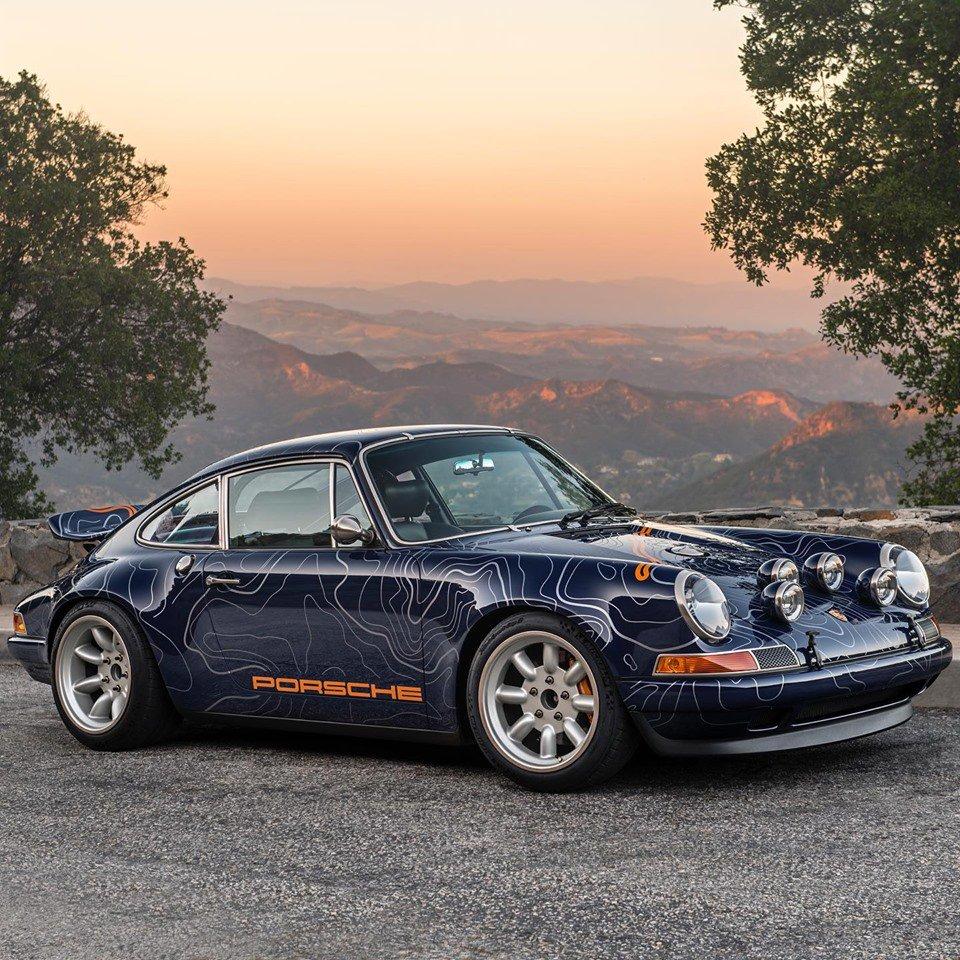 Monterey Car Week Singer Vehicle Design Porsche 911