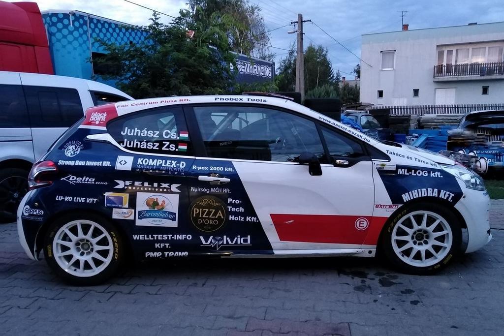 Juhász Csaba Juhász Zsolt Mitropa Rallye Nova Gorica