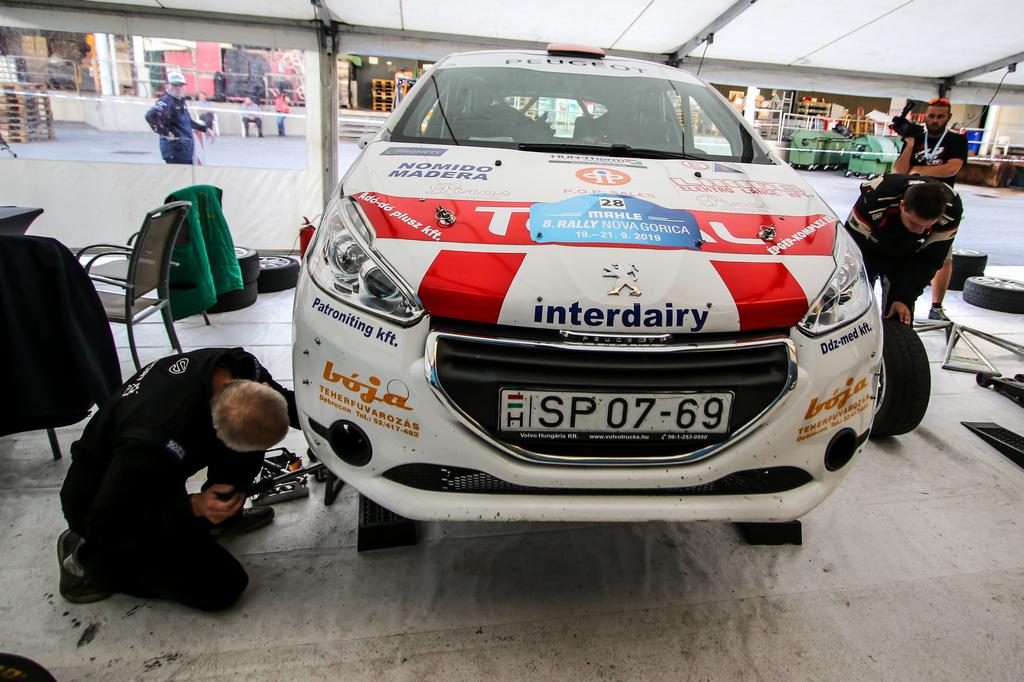 Juhász Csaba Nova Gorica Bassano Rally
