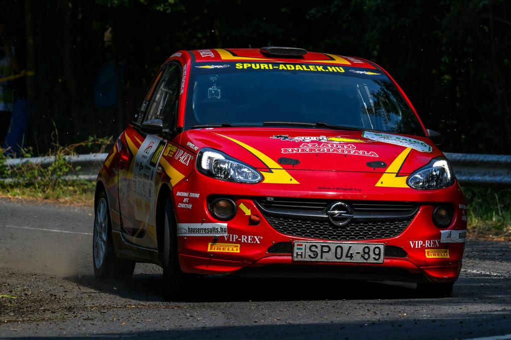 Farkas Kálmán Tim Gábor Timár Tamás Rallye2 Salgó Rallye