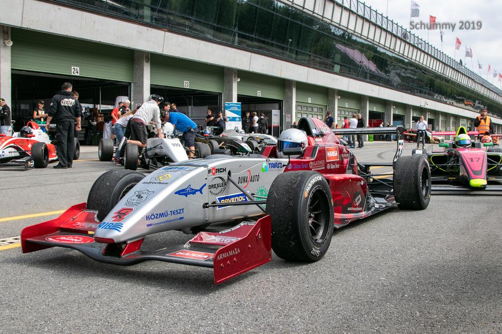 Gender Racing Team Szabó Nikolas magyar Formula Renault Kupa bajnoki cím