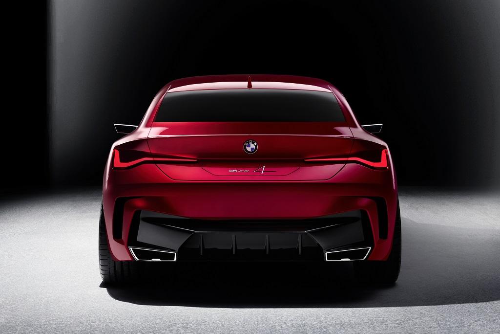 új BMW 4 coupe