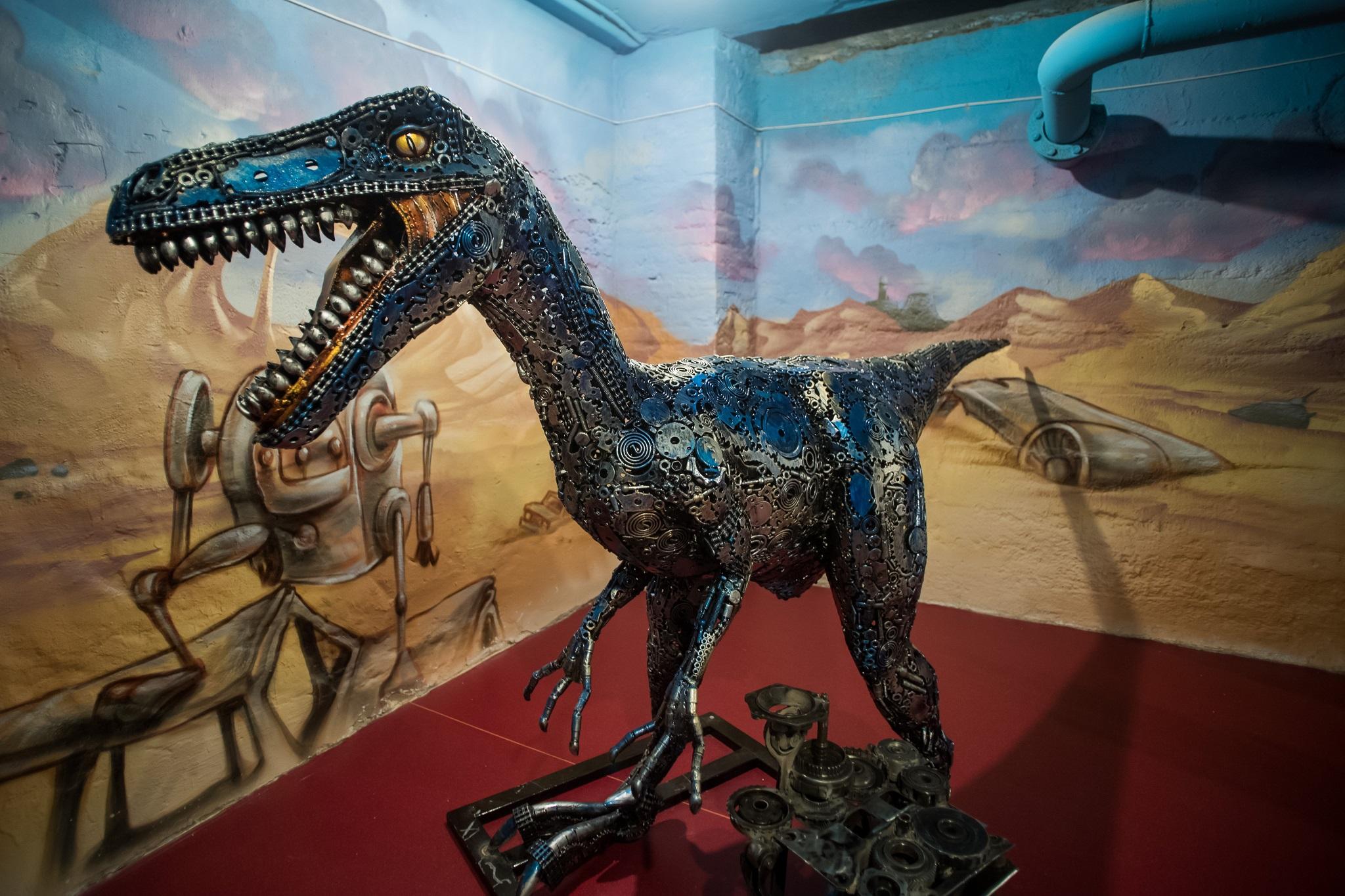 Fogaskerékből dinoszaurusz