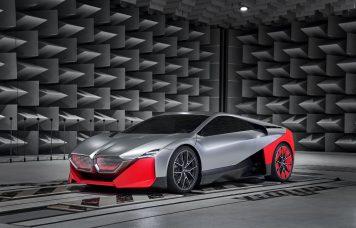 Elektromos BMW hang