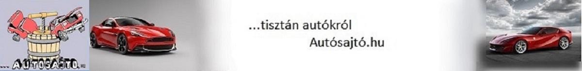 autósajtó