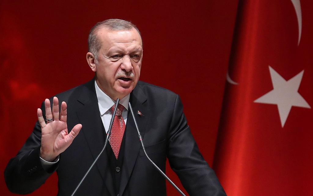 Erdogan látogatása