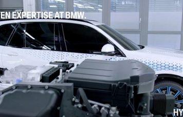hidrogén hajtású BMW