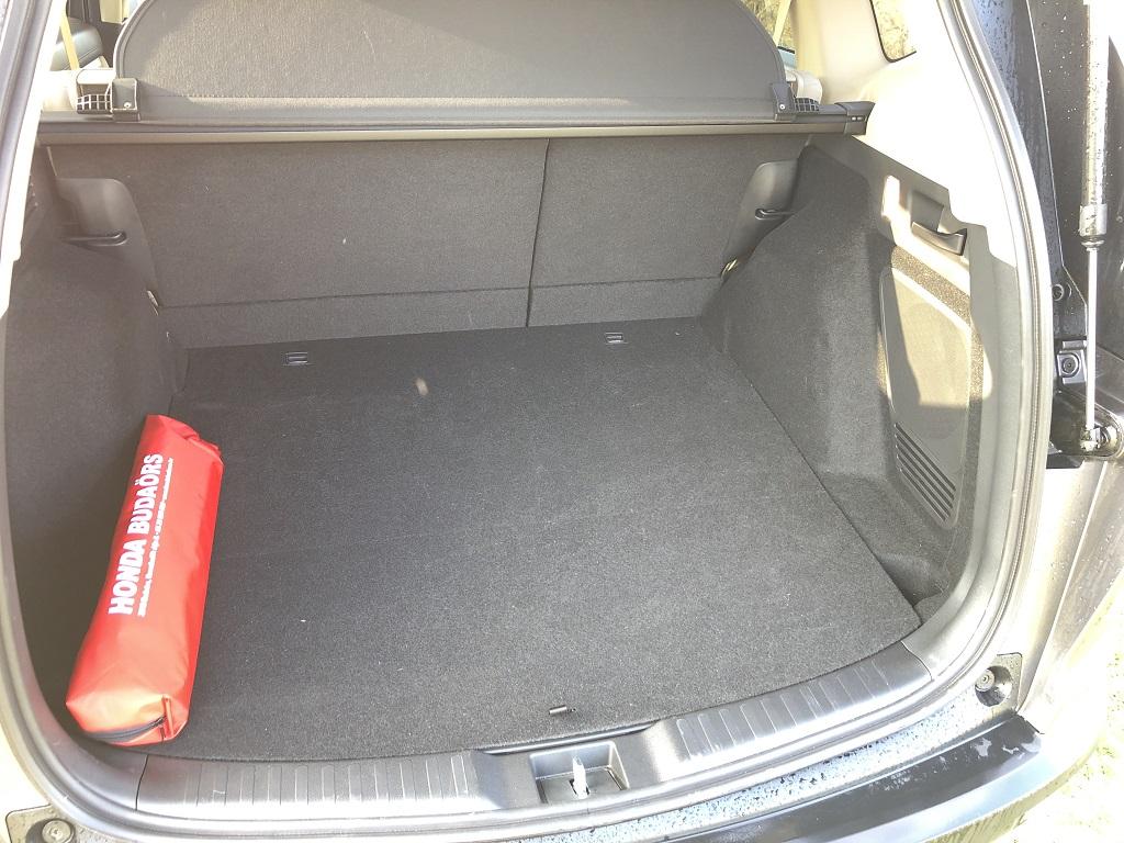 Honda C-RV teszt