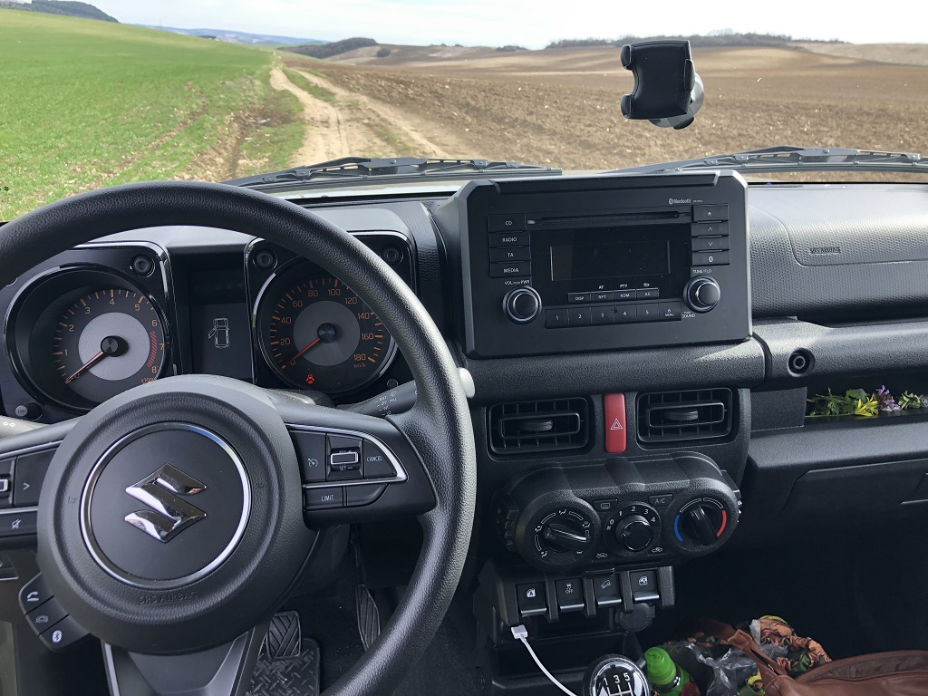 Suzuki Jimny teszt